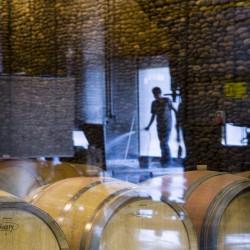 vina-las-ninas-winery-oak-barrel-man